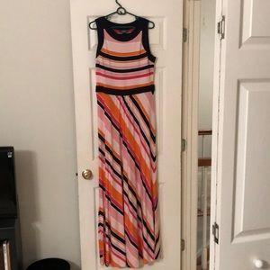 Maxi dress, size M/T 10-12 Tall